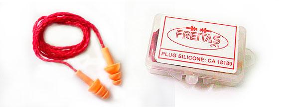 144ebe4cdfea3 Plug de Silicone Referência  F001 C.A.  18.189. Descrição  Protetor Auditivo  ...